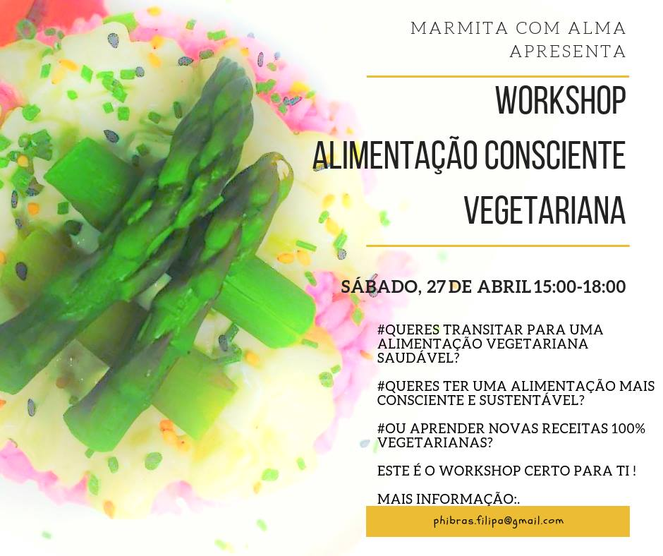 workshop culinaria vegetariana